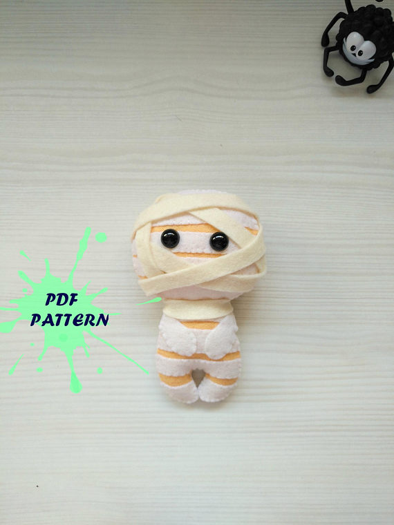 Mummy PDF pattern