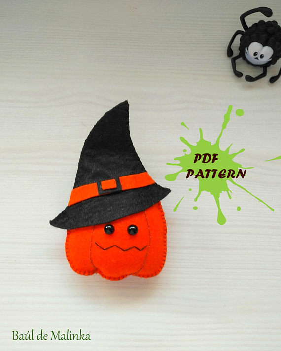 Pumpkin PDF pattern- DIY-Nursery decor