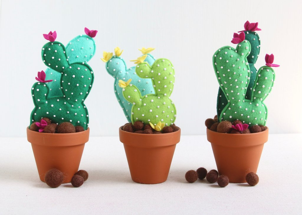Felt Cactus DIY