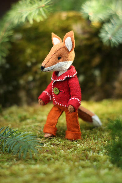 Felix the Fox PDF pattern