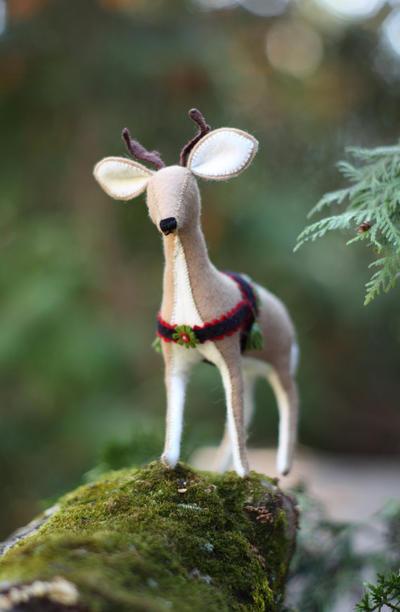 Reindeer PDF pattern