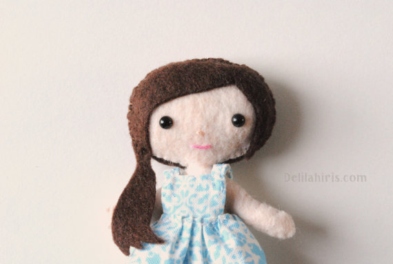 Charlotte The Pocket Doll Printable Doll Sewing Pattern