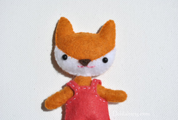 Mini Fox Doll Sewing Pattern