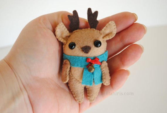 Reindeer Felt Ornament Pattern