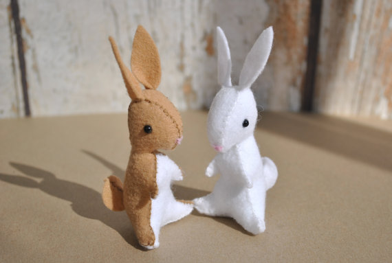 Waldorf Inspired Felt Bunny Pattern