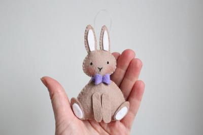 Felt rabbit pattern PDF