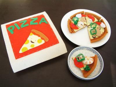 Seafood Pizza takeaway - Patrón Pizza Fieltro
