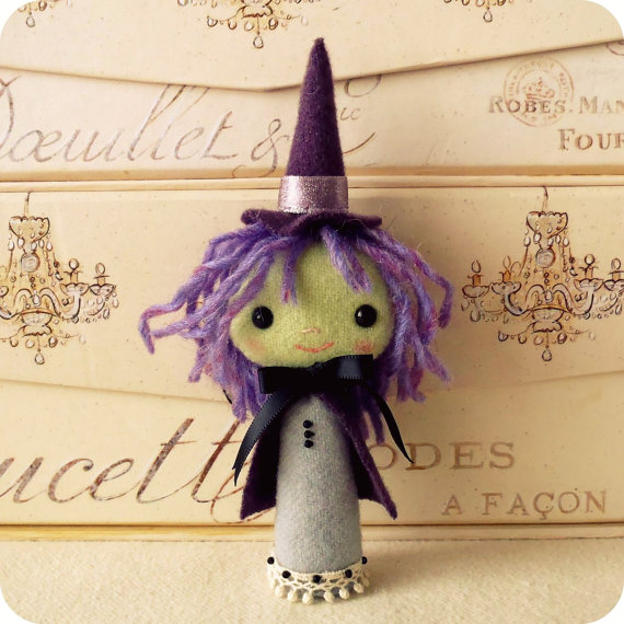 Halloween Witch Felt Pattern