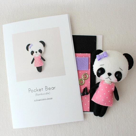 Patterns by panda - fieltroteca