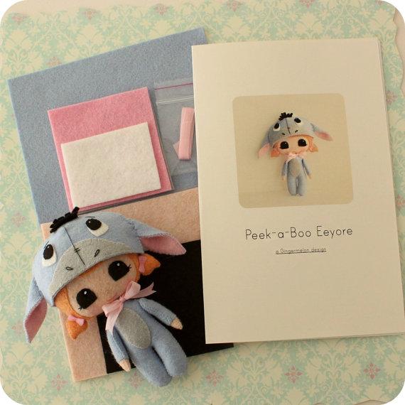 Kit de patrón Eeyore Peek-a-Boo