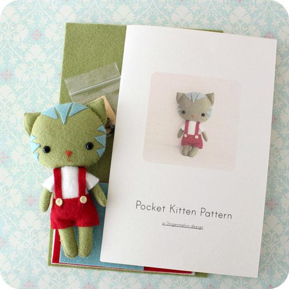 Kit de patrones de Kitty de bolsillo