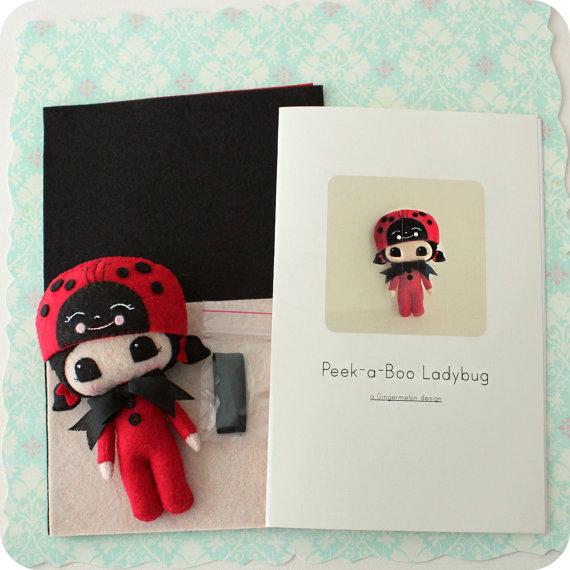 Kit de patrones de Mariquita Peek-a-Boo