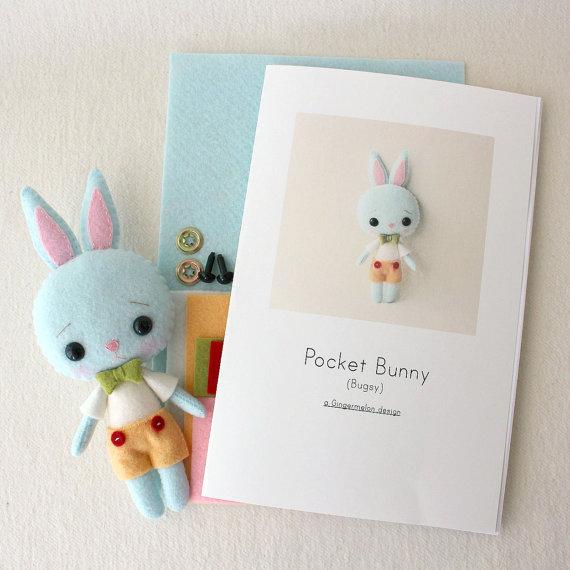 Kit del patrón del conejito Bugsy bolsillo