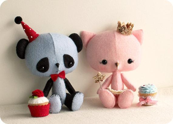 La princesa y el Panda patrón - descarga instantánea