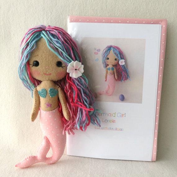 Lorelei - Kit de niña sirena