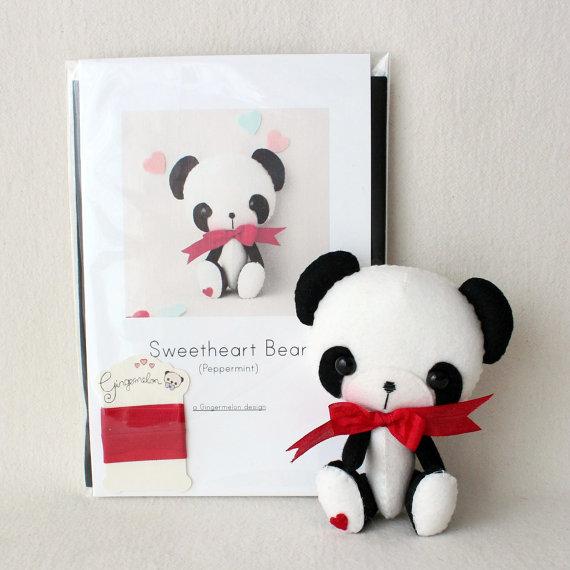 Panda Bear Felt Kit