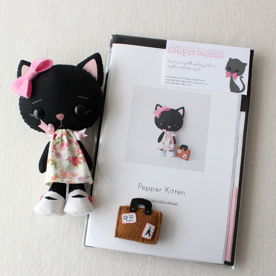 Pepper Kitten Felt Kit