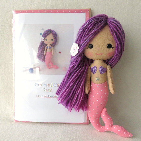 Perla - Kit de niña sirena