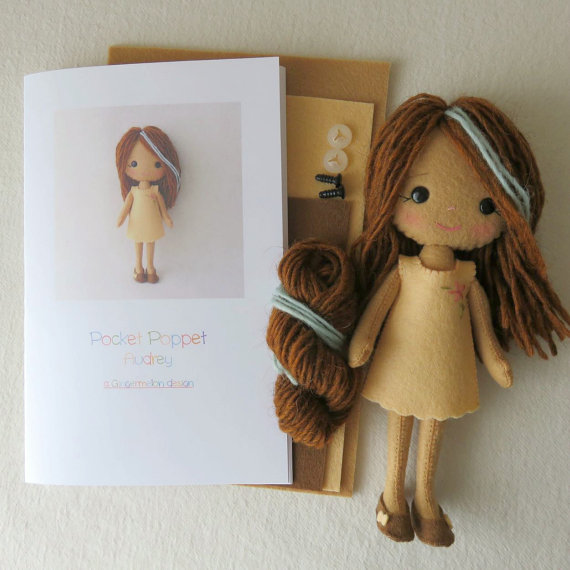 Pocket Doll Audrey Kit