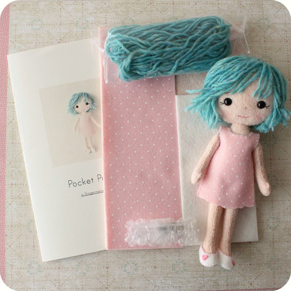 Pocket Doll Rowen Felt Kit
