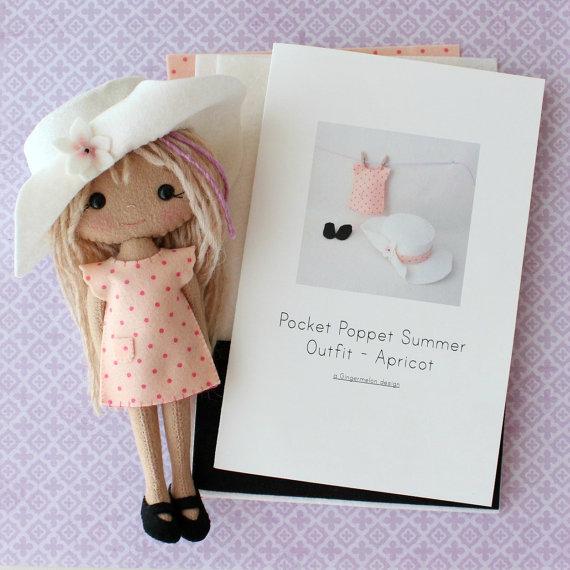 Summer Doll albaricoque Kit