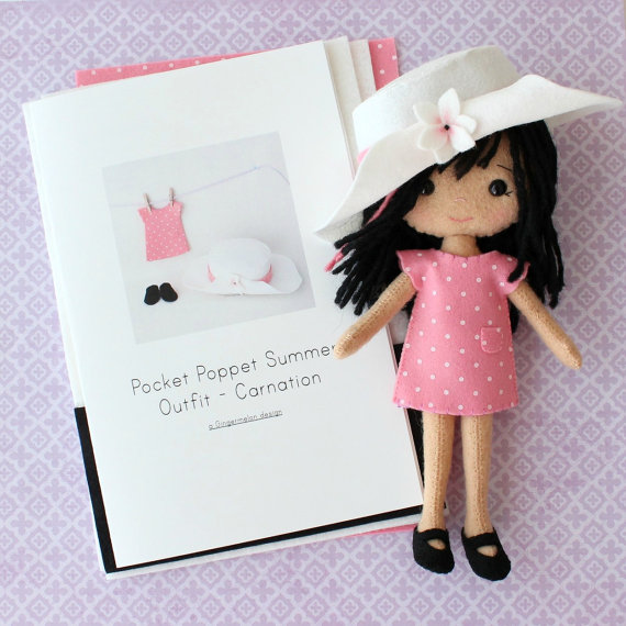Summer Doll clavel KIt