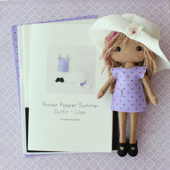 Summer Doll lila Kit