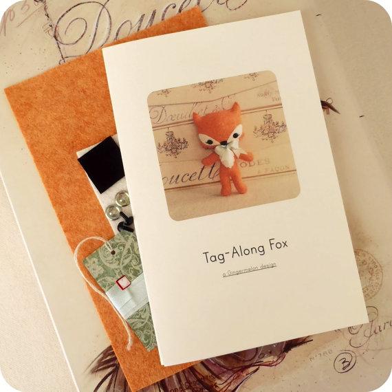 Tag Along Fox Felt Kit