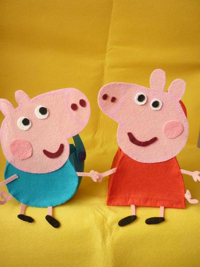 Bolsitas Peppa Pig y  George Pig