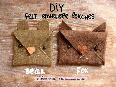 Make Animal Pouches in 3 Minutes
