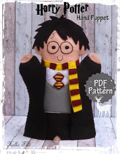 Felt Harry Potter Hand Puppet