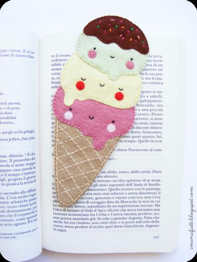 Ice Cream Felt Pattern