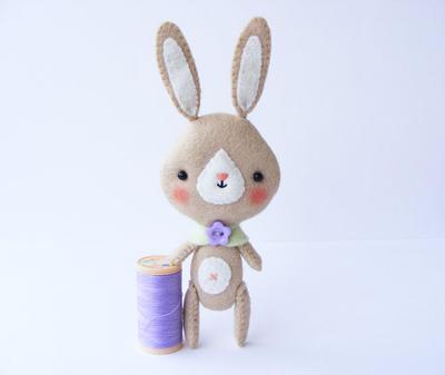 PDF pattern - Pocket bunny