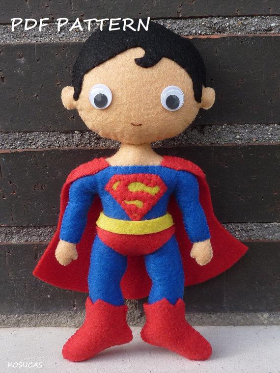 Patrón PDF para hacer a Superman
