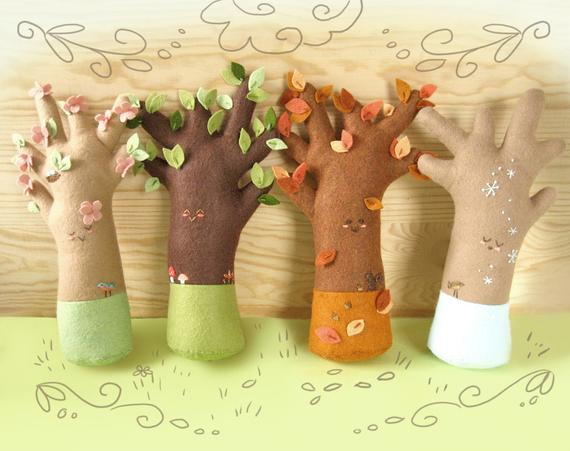 Plush Pattern for Happy Seasons Trees