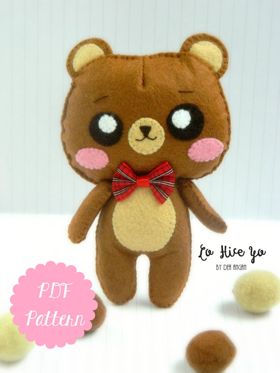 PDF Pattern: Bear Plush