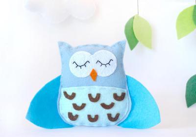 Felt Owl - PDF Pattern