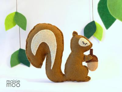 Felt Squirrel - PDF