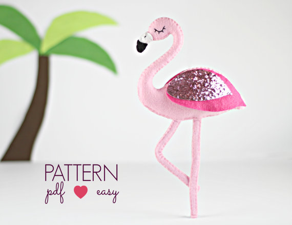 Flamingo Sewing Pattern