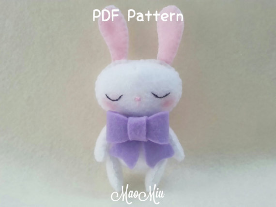 My Little Pet Bunny Plush - PDF Pattern Instant Download