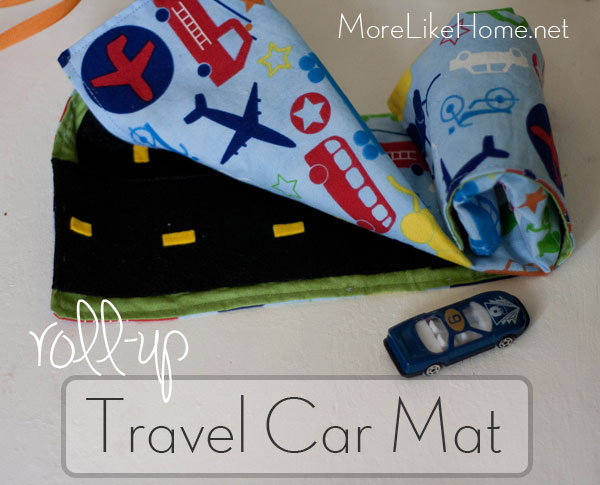 Travel Car Play Mat