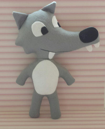 Big bad wolf plush pattern pdf digital download