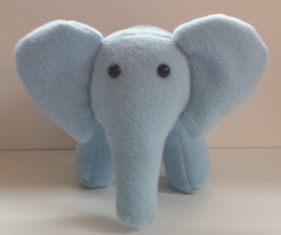 Elephant plushie pdf digital download
