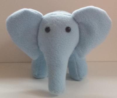 Elephant plushie pdf digital download