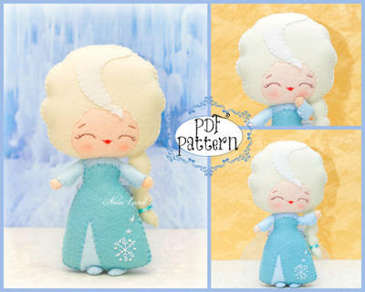Fairy tale pattern. Plush Doll Pattern