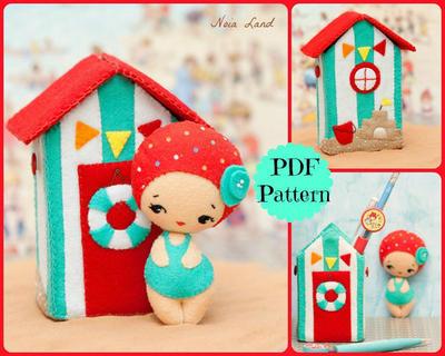 PDF. Casa de playa con muñeca
