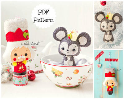 PDF Pattern. The Nutcracker and The Mouse King