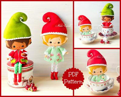 PDF. Santa elves