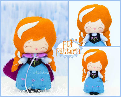 Plush Doll Pattern