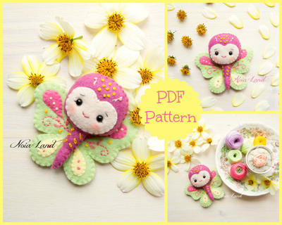Tiny butterfly.  (PDF Pattern)